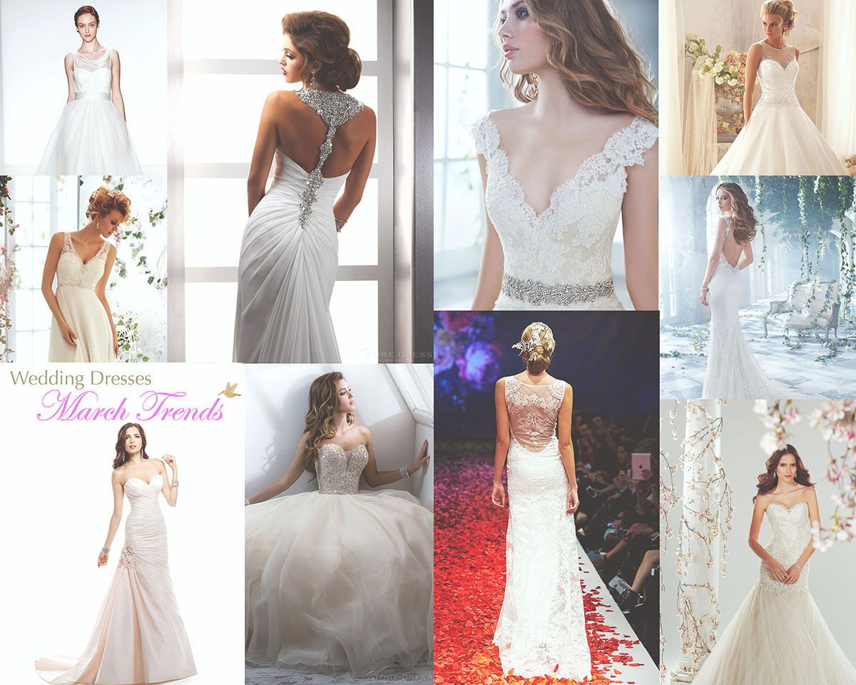 March Love And Wedding Dresses
